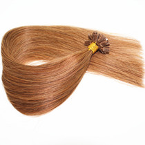 Double Drawn Flat Tip Hair Extenions.